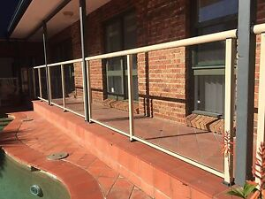 Used Glass Fence for Swimming pool/Backyard Haymarket Inner Sydney Preview