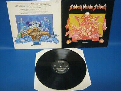 RECORD ALBUM BLACK SABBATH SABBATH BLOODY SABBATH