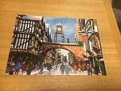 Chester Christmas Card Front Craft Collectible DIY ()
