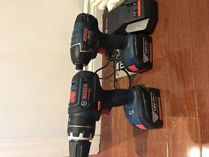 18V Compact Tough 1/2 In. Hammer Drill/Driver & impact drive