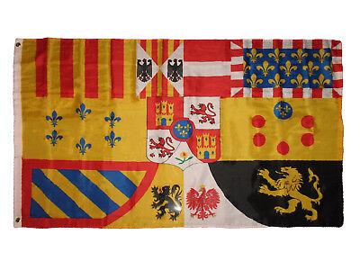 3x5 Spain Spanish Royal Banner Premium Quality Flag 3'x5' Banner Grommets](Spanish Flags)