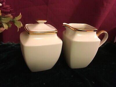 Lenox Eternal  Square Sugar bowl and Creamer New USA Square Sugar Bowl