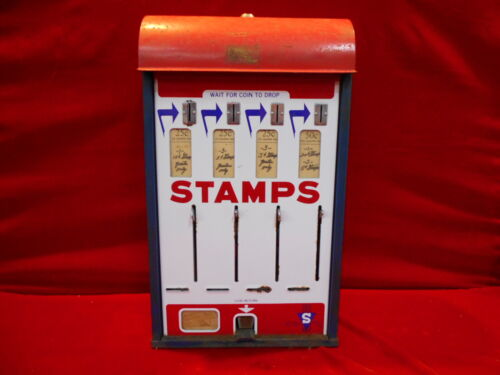 Vintage Shipman Mfg. Co. U.S. Postage Stamp Dispenser
