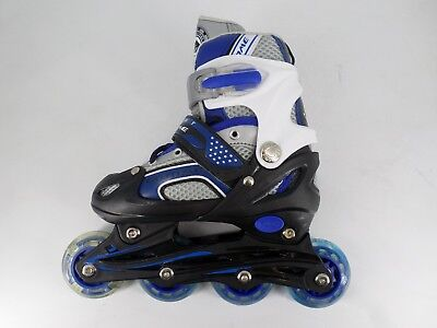 Gosome Adjustable Inline Skate (Blue) UK11.5-1.5 EU 30-33 CH09 95