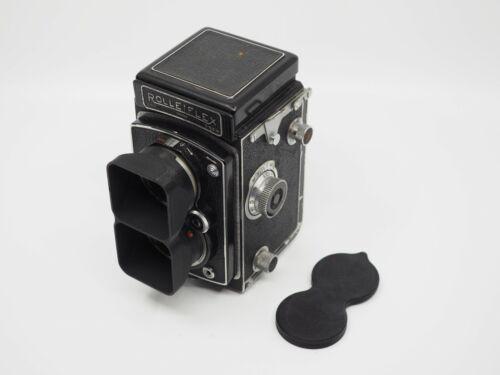 Rolleiflex Bay I Lens Hood/Shade & Dual Cap Automat 3, Rolleicord V Va no camera