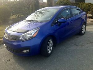 2013 Kia Rio LX+ with remaining 7yr/180K km warranty!
