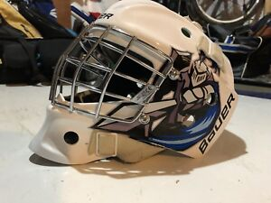 Youth goalie equipment (mask, chest protector, pads)