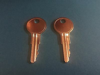 2 Hon Or Allsteel File Cabinet Keys Office Furniture 101E To 150E Desk Lock Key