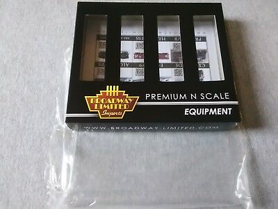 Broadway Limited N H32 Covered Hopper PRR Gray 4-Pack A  #3167 Empty Box ~ TS