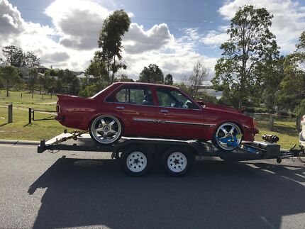 CAR TRAILER HIRE $65- 24 HRS - TILT, ELEC WINCH / free straps Mudgeeraba Gold Coast South Preview