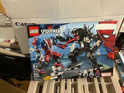 LEGOSpider Mech Vs Venom Marvel Superheroes 76115 Set