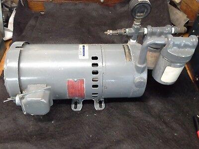 Gast 1023-v103-g279 Vacuum Pump .75 Hp 3ph 208-220380-440v 5060 Hz