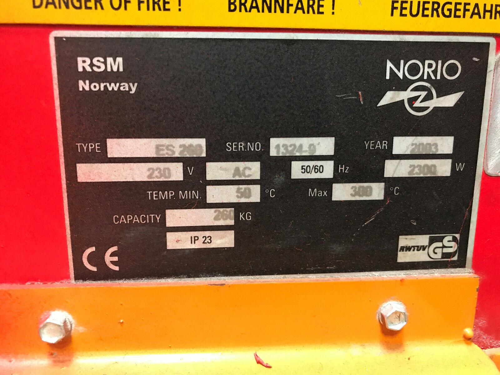 Norio Elektrodentrockner ES 200 Elektrodenofen, Trockenschrank