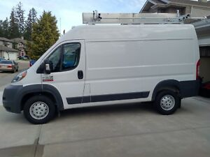 2018 Dodge Promaster 2500 (Electrical Contractor is selling)