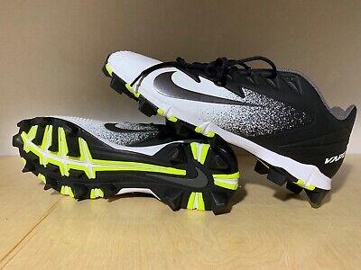 11428ae0e Nike Vapor UltraFly Keystone Men s Rubber Baseball Cleats Black White 852688 -001