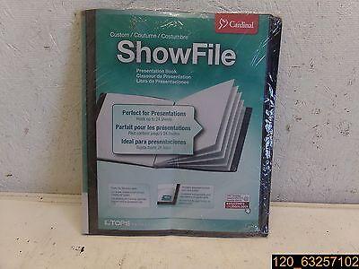 Cardinal Custom Showfile Presentation Book Crd50132