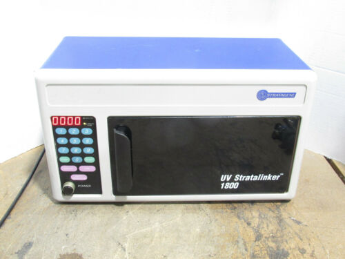 Tested Stratagene UV Stratalinker 1800 Cat. No. 400071 Ultraviolet Crosslinker