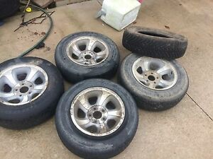 S10 rims with rubber