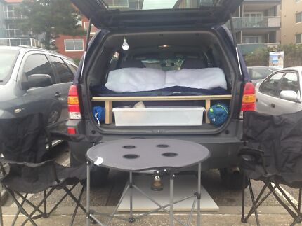 FORD ESCAPE WAGON BACKPACKERS CAMPER VAN 4WD