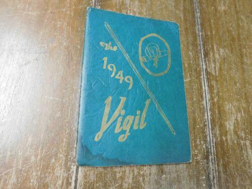 The Vigil Yearbook Pottsville Pennsylvania Hospital School Of Nursing 1949