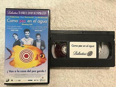 SSER SHOOTING FISH DAN FUTTERMAN STUART TOWNSEND VHS (Wasser-shooting)
