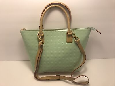 ARCADIA 'Forever' Turquoise Satchel Bag - Made in Italy Leather Shoulder Handbag