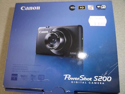 Canon powershot s200 brand new in box