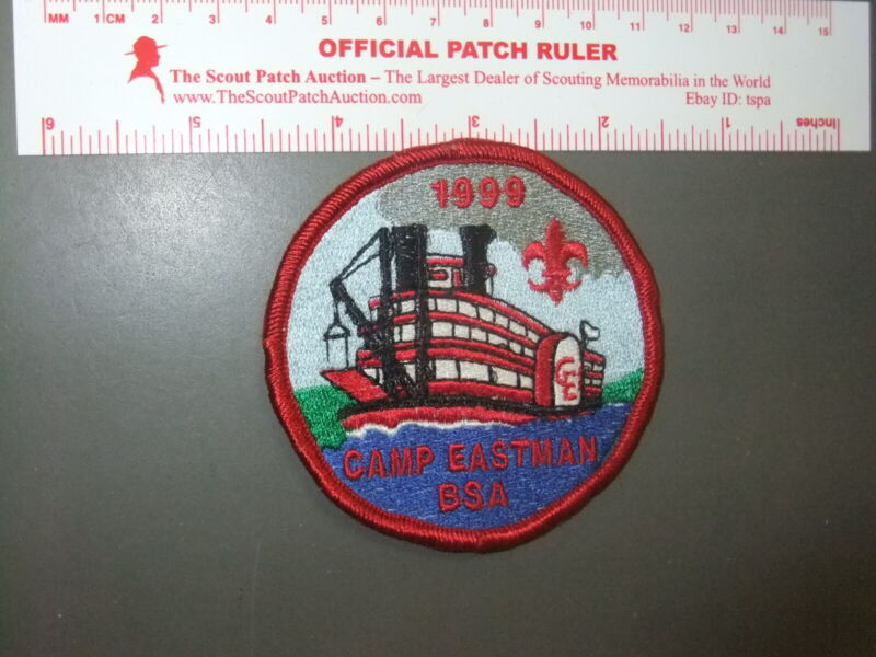 Boy Scout Camp Eastman 1999 patch 3138EE