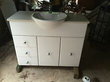 Caesar Stone White Vanity Arcadia Hornsby Area Preview