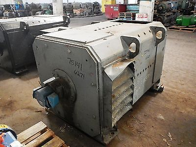 200 HP DC General Electric Motor, 250 RPM, 6271 Frame, DPFV, 500 V Arm.