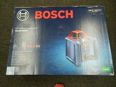 Bosch Grl800-20hvk Self Leveling Rotary Laser Kit Brand New
