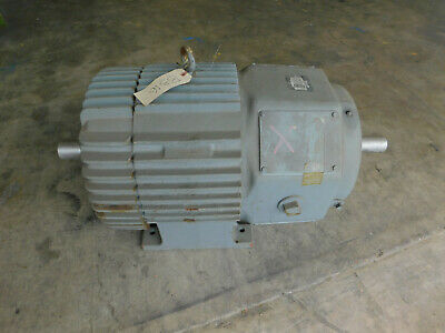 New Ge Electric Motor 30 Hp 1145 Rpm 230460 V 364z Slip Ring Double Shaft