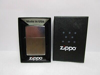 2013 ZIPPO LIGHTER WITH BOX AND PAPERS   UNUSED