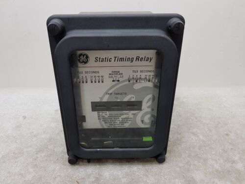 GENERAL ELECTRIC Static Timing Relay GE SAM206A1A