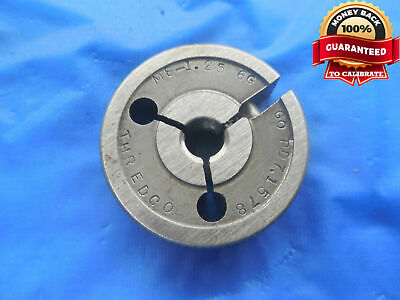 M8 X 1.25 6g Metric Thread Ring Gage 8.0 Go Only P.d. 7.1578 Inspection Tool