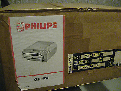 PHILIPS CAR RECORD PLAYER------WEST GERMANY------MINT SEALED BOX------FREE SHIP