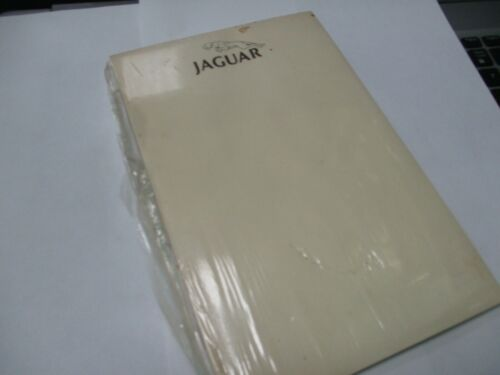 Jaguar notepad gift NOS with leaping cat