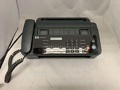 Hp 2140 Professional Quality Plain Paper Fax Machine Copy Phone Copier