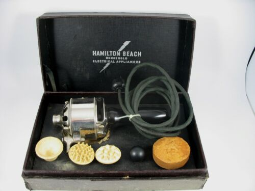 Collectors Antique Hamilton Beach Type F Vibrator - Works Vintage