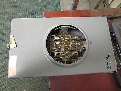 Duncan Meter Socket Hq-13t 20a 600v 3ph 4w Used