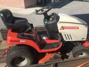 """Allis Chalmers  23hp 42"""" Riding Lawn Garden Tractor Mower OBO"""