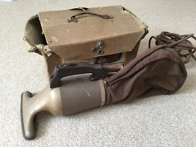 Vintage Handheld Hoover Dustette Vacuum Cleaner 100 model with original box