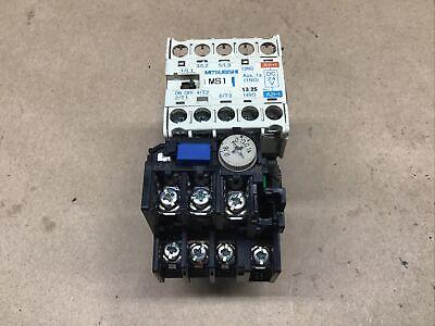 Mitsubishi SD-Q11 Magnetic Contactor 24V TH-N12 .16-1A  #53I28*AD
