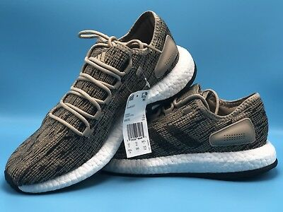 6119479b39407 Adidas PureBOOST DPR SIZE 10 1 2 RUNNING SHOES VERY COMFORTABLE Trace Khaki  Wow