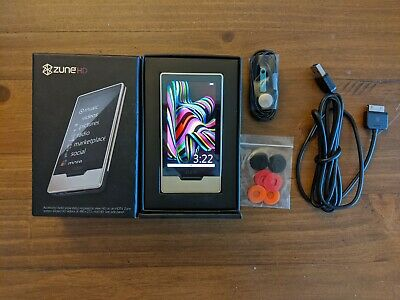 Microsoft Zune HD Platinum (32 GB) Digital Media Player Microsoft Zune Player