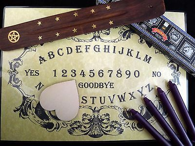 Contact Spirit Halloween (SÉANCE & SPIRIT COMMUNICATION KIT ouija board wicca pagan contact dead)