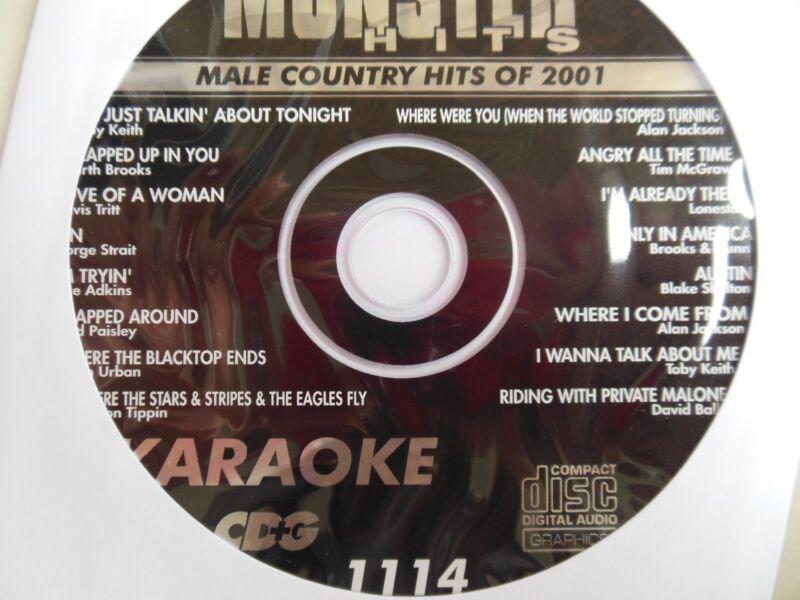 Monster Hits Karaoke CD+Gvol-1114 Alan Jackson,George Strait,Lonestar,Toby Keith