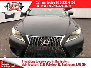 2016 Lexus IS 350 F-SPORT, AWD, Navigation