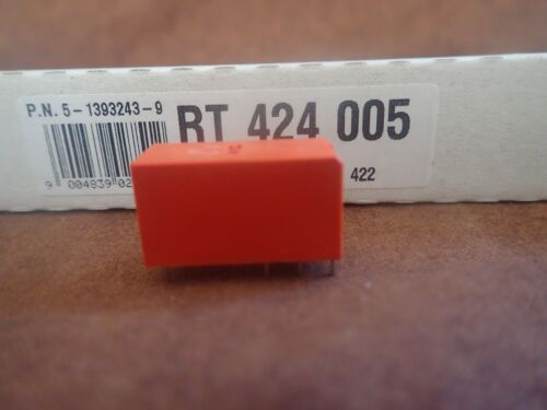 RT424-005 RELAY GENERAL PURPOSE DPDT 8A 5V   ** NEW **