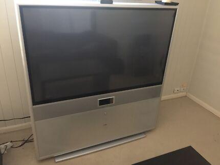 """140cm rear projection TV (56"""") Shailer Park Logan Area Preview"""